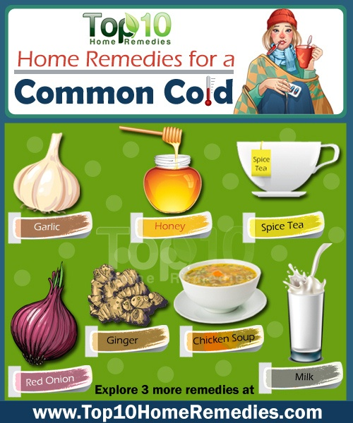 At home cold remedies