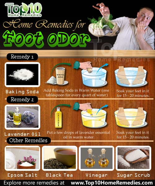Home Remedies For Foot Odor Top 10 Home Remedies