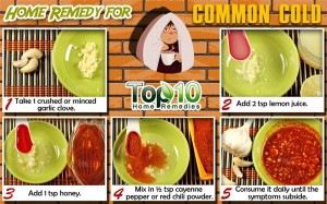 home remedy for common cold