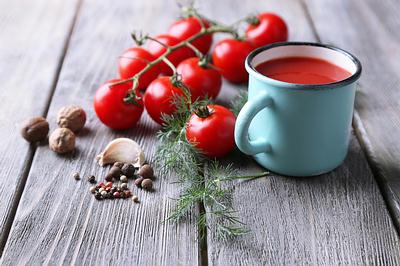hot tomato tea