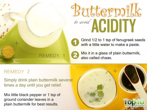 buttermilk for acidity