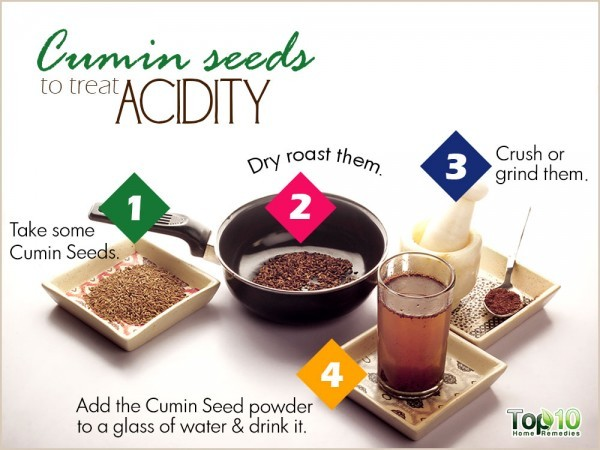 cumin for acidity