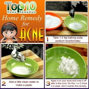 home remedies for acne scars on face