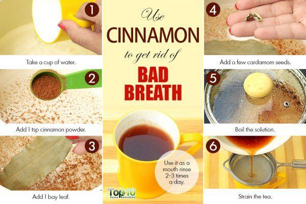 cinnamon for bad breath