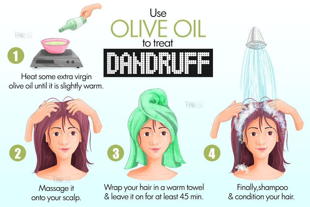 Best Natural Hair Oil For Dandruff