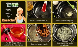 earache home remedy