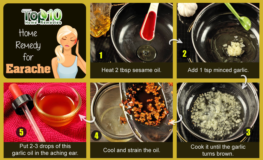 Earache Home Remedy Heat
