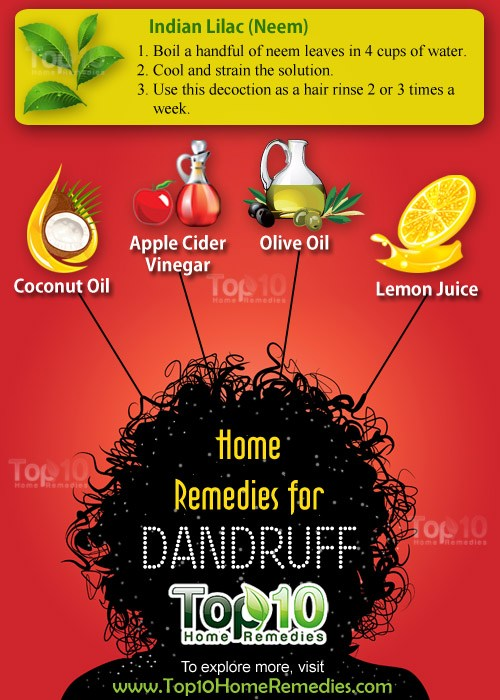 home remedies for dandruff
