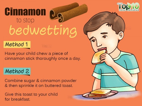 cinnamon for bedwetting
