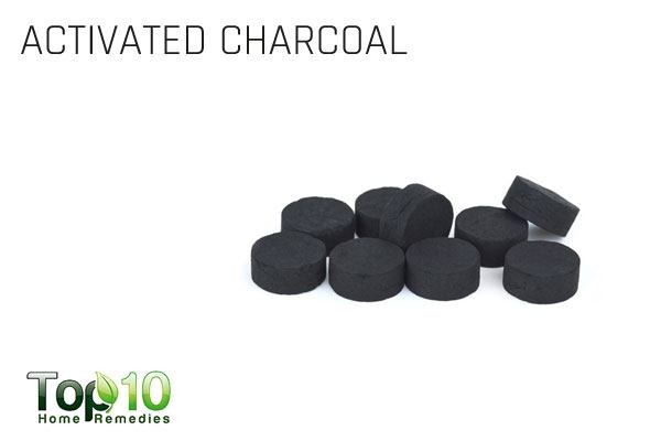 activated charcoal to reduce stomach gas