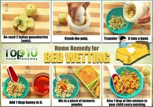bed wetting home remedy using Indian gooseberry
