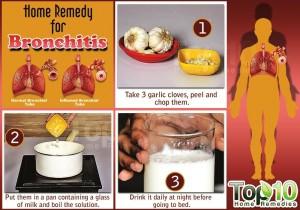 bronchitis garlic home remedy