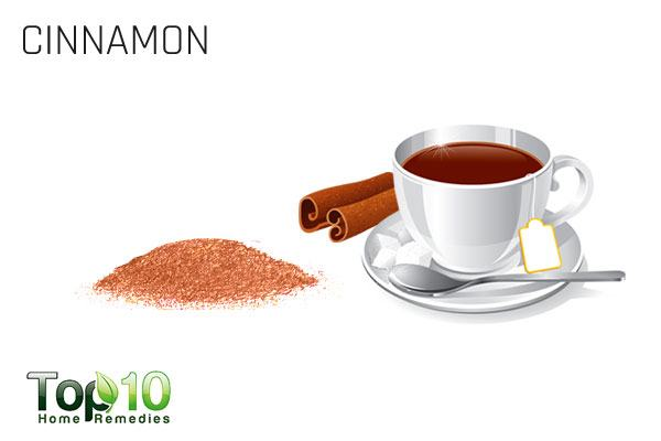 cinnamon for stomach gas