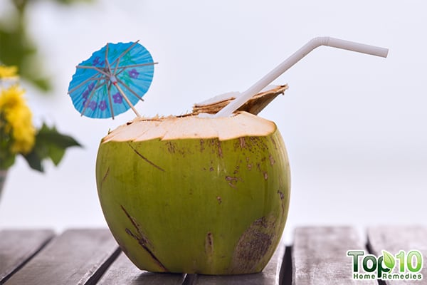 coconut water to lower hypertension