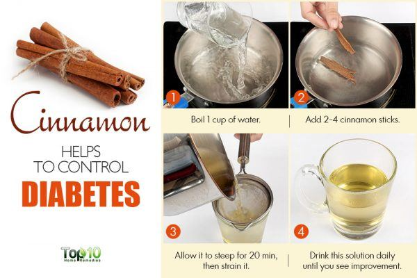 cinnamon to control diabetes
