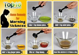 morning sickness home remedies