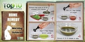 morning sickness natural cure