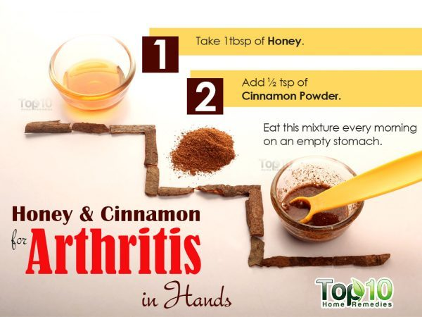 cinnamon and honey remedy for arthritis in hands
