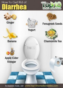 how to get rid of diarrhea in a day