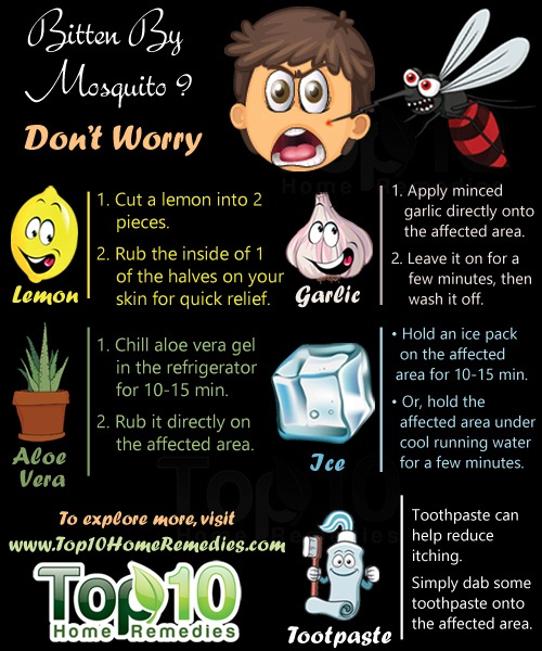 home- remedies for mosquito bites