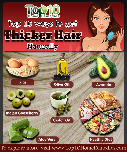 How To Get Thicker Hair Naturally Top 10 Home Remedies