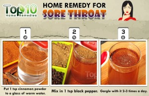 sore throat home remedy