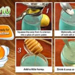 lemon home remedy for constipation