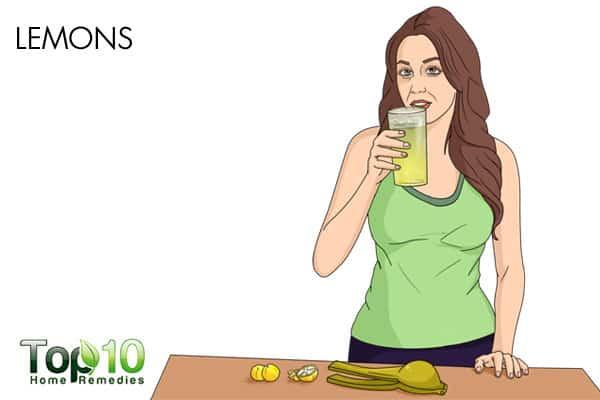 lemons for constipation