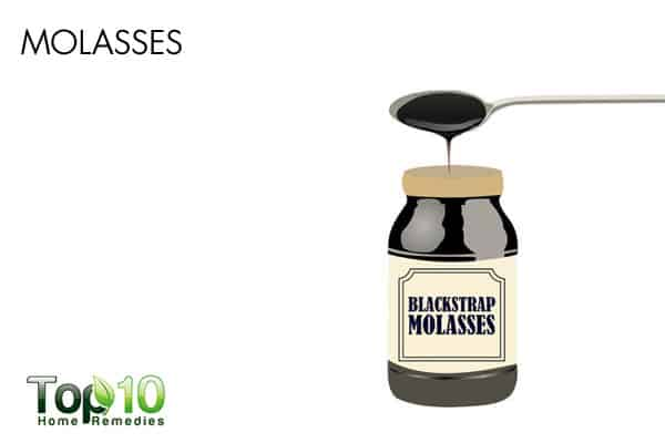 molasses for constipation
