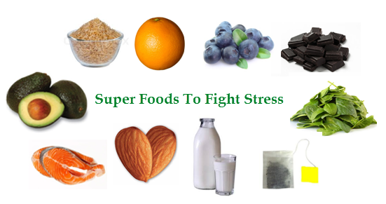 10 Super Foods To Fight Stress
