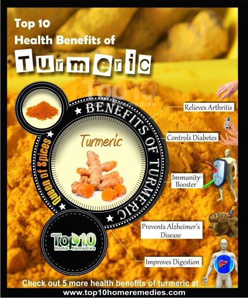 benefici per la salute della curcuma