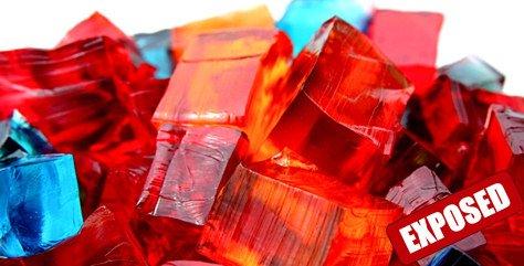 gelatin exposed