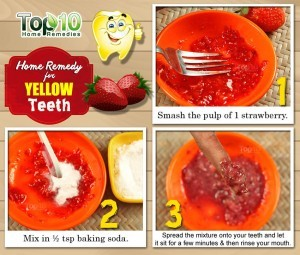 home remedy for yellow teeth