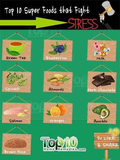 stress superfoods