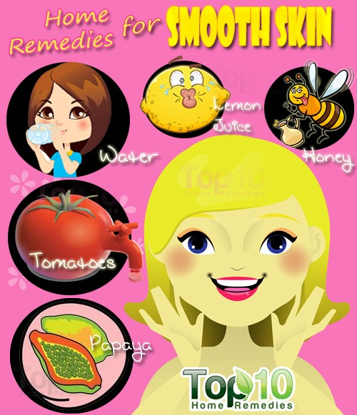 how to get smooth skin - Home Remedies