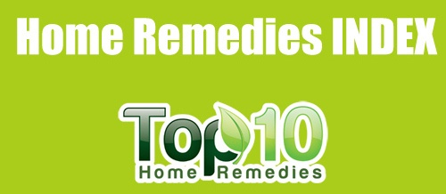 home remedies index