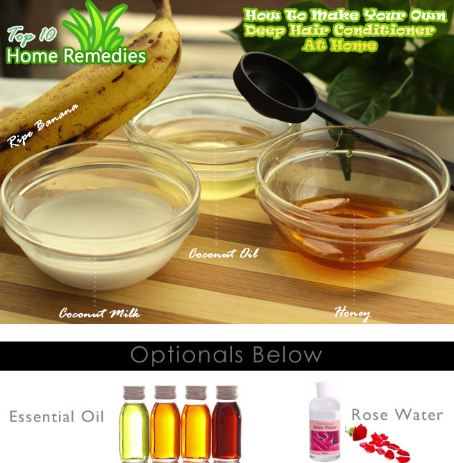 diy homemade banana deep hair conditioner top 10 home remedies