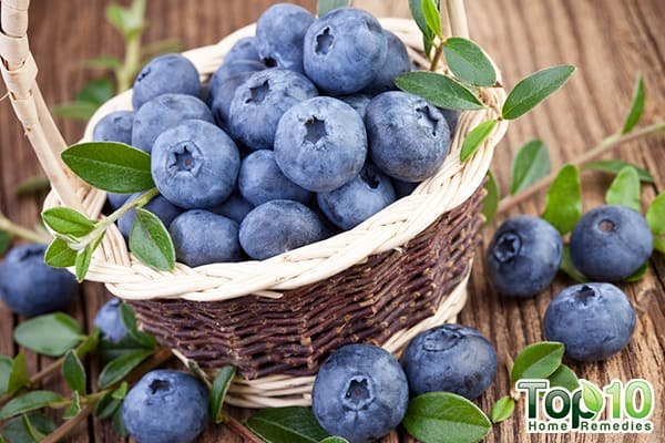 blueberries for new mothers