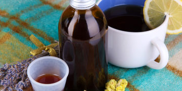 DIY homemade cough syrup