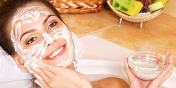 DIY homemade face mask for glowing skin