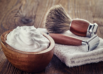 DIY Homemade shaving cream for smooth shaving