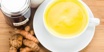 Diy Homemade spiced turmeric milk