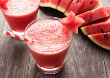 DIY refreshing and hydrating watermelon smoothie to beat the summer heat