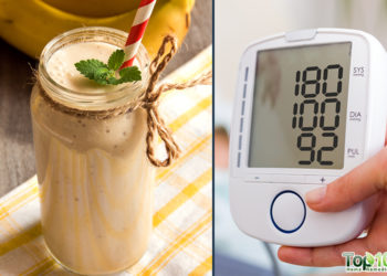 Tasty morning smoothie for high blood pressure