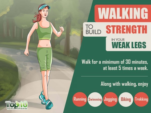 walking to strengthen weak legs