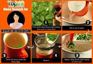 hyperthyroidism home remedy