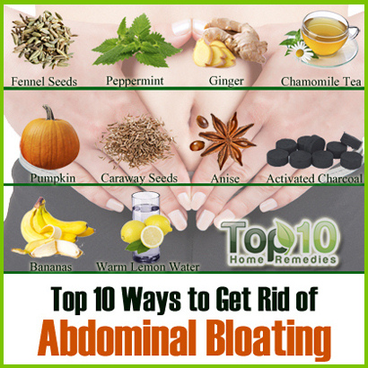 Natural Remedies For Bloated Tummy