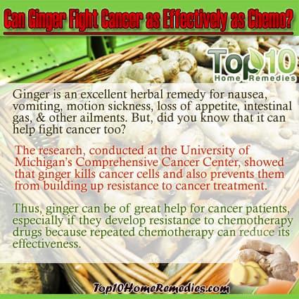 ginger for cancer