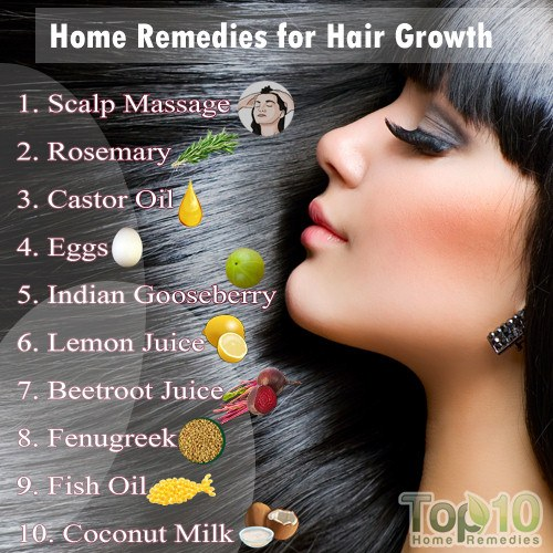 Home Remedies For Hair Growth Top 10 Home Remedies