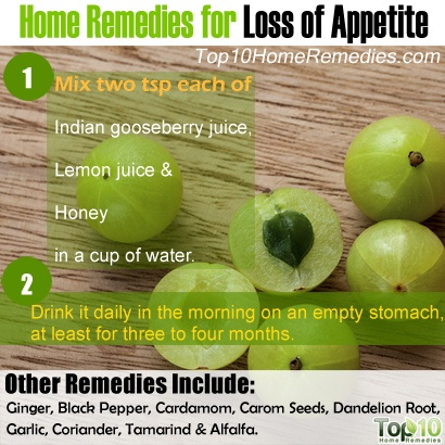 Home Remedies For Loss Of Appetite Top 10 Home Remedies